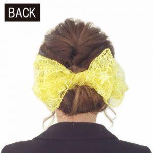 成人式 髪型 振袖 ヘアアレンジ ロングヘア シニヨン リボン