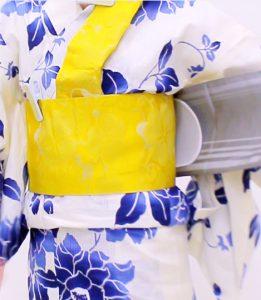 浴衣 着付け 帯結び 簡単 文庫結び
