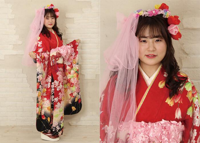 振袖 ファッションショー おやゆび姫